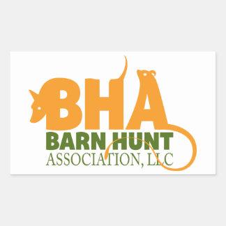 Barn Hunt Association LLC Logo Gear Rectangular Sticker