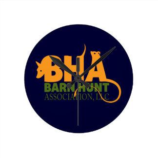 Barn Hunt Association LLC Logo Gear Round Wall Clock
