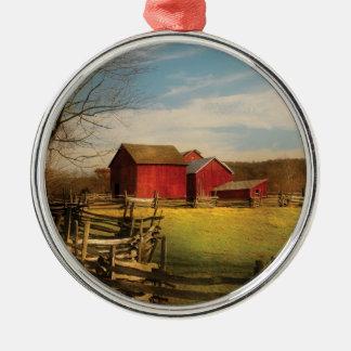 Barn - I bought the farm Metal Ornament