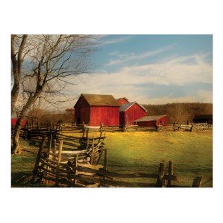 Barn - I bought the farm Postcard