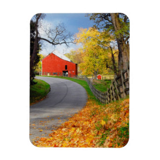 Barn in Fall Magnet