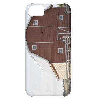 Barn in rural landscape cover for iPhone 5C