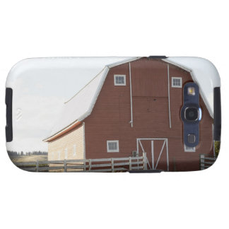 Barn in rural landscape galaxy s3 case