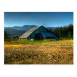 Barn in Sequim Washington Postcard
