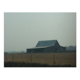 Barn in Tennessee Postcard