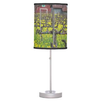Barn In The Vineyard Desk Lamp