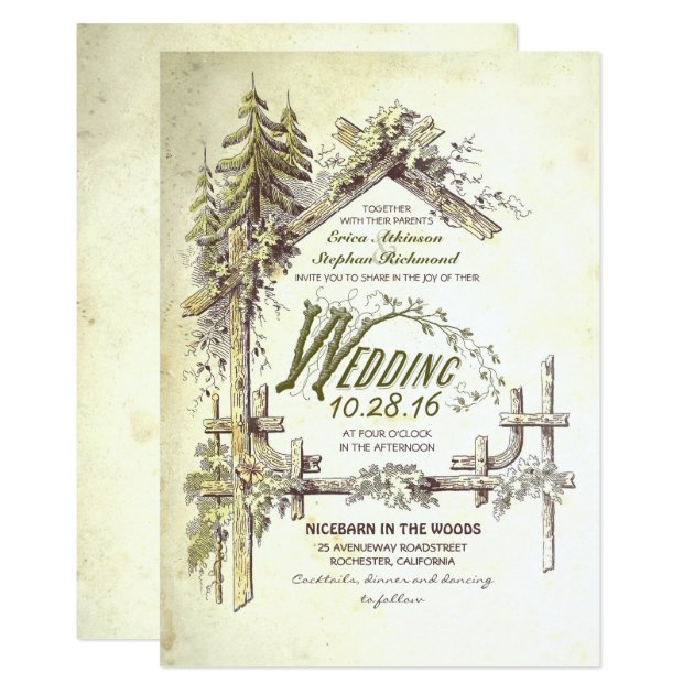 barn wedding gifts on zazzle, Wedding invitations