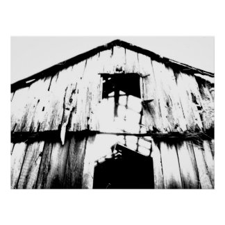 Barn interpreted poster