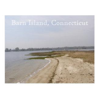 Barn Island, Connecticut Postcard
