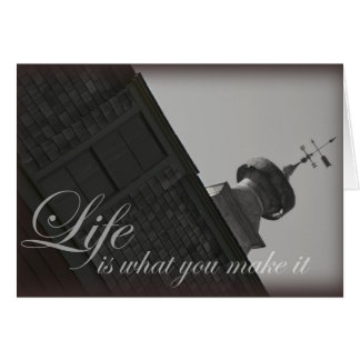Barn Life quote greeting card quanity discount