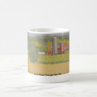 Barn Near saugerties NY Coffee Mug