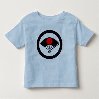 Barn Ogi Sensu Red Hinomaru, Japan Tshirts