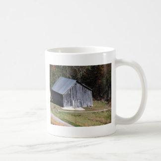 BARN ON A HILL SOUTHWEST VIRGINIA CLASSIC WHITE COFFEE MUG