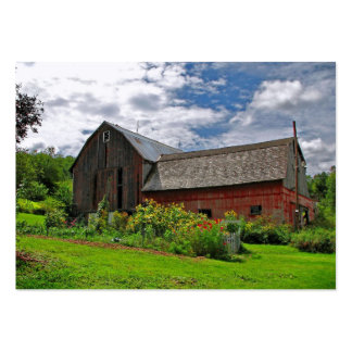 Barn on Summer Day ATC Large Business Card
