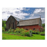 Barn on Sunny Summer Day Photo Print