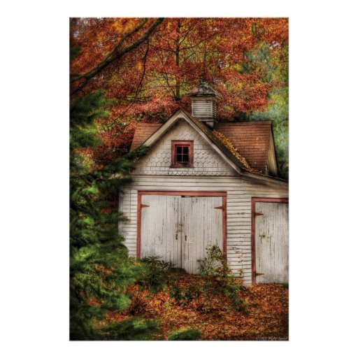 Barn - Our old shed Print