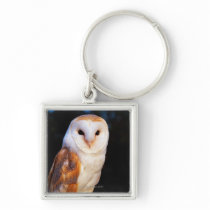Barn Owl 2 Keychain