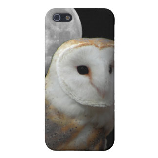 barn owl and moon case for iPhone SE/5/5s