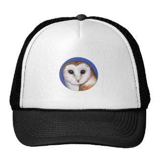 Barn Owl Bird Painting Trucker Hat