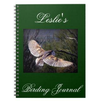 Barn Owl Birding Journal