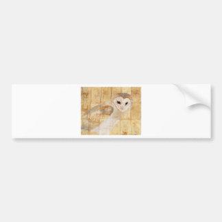 Barn Owl Bumper Stickers