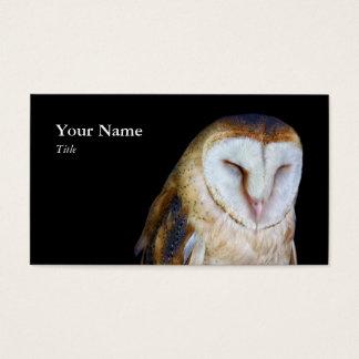 Barn Owl Business cards