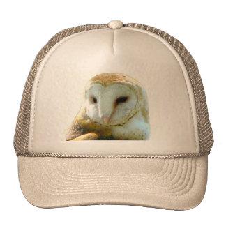 Barn Owl Close Up Mesh Hat