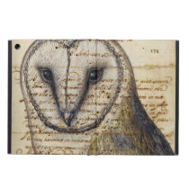 Barn Owl Collage iPad Air Case