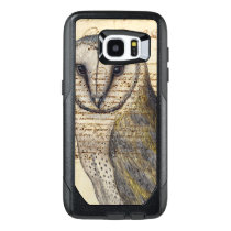 Barn Owl Collage OtterBox Samsung Galaxy S7 Edge Case
