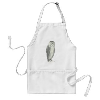 Barn Owl | Customizable Adult Apron