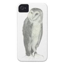 Barn Owl   Customizable iPhone 4 Case