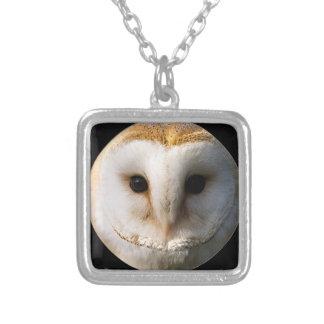 """Barn Owl"" design jewelry"
