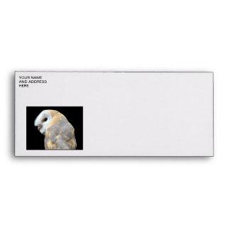 Barn Owl Envelope