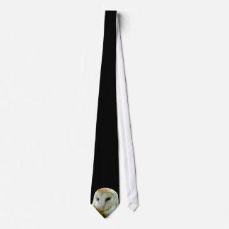 Barn Owl Featured Profile Neck Tie