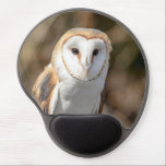 "Barn Owl Gel Mouse Pad<br><div class=""desc"">A portrait of a Barn Owl taken at Wild Mountain Birds in Rosendale,  NY. This photo was taken by Debbie Quick of Debs Creative Images. To see more great photo&#39;s from Debbie,  check out her website at: www.debscreativeimages.com</div>"