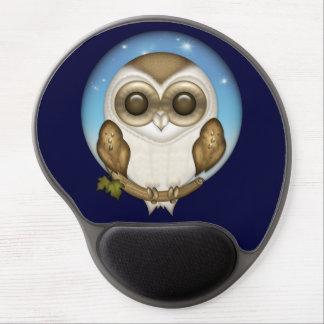 Barn Owl Gel Mouse Pad