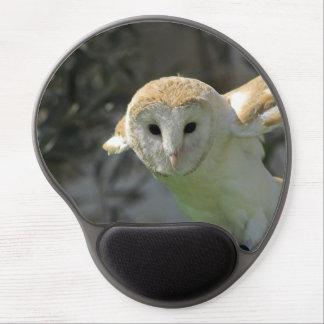 Barn Owl Gel Mousepad