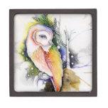 Barn Owl - Gift Box Premium Jewelry Box