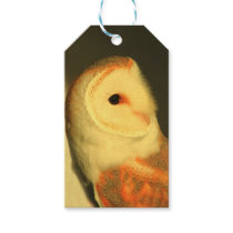Barn owl gift tags