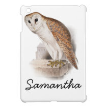 Barn Owl Illustration Case For The iPad Mini