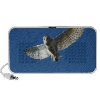 Barn Owl in Daytime Flight Portable Speaker
