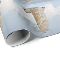 Barn Owl in Flight Wrapping Paper