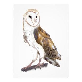 Barn Owl Personalized Invite