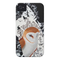 Barn Owl iPhone 4 Case