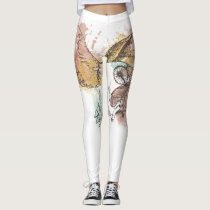 Barn owl leggings