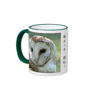 Barn Owl Look Ringer Mug