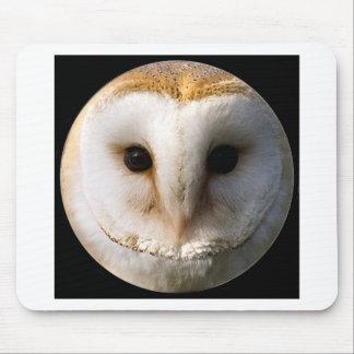 """Barn owl"" Mouse Pad"