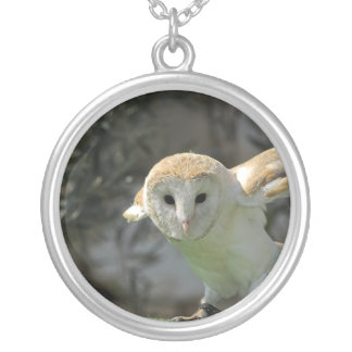 Barn Owl Necklaces