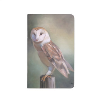 """Barn Owl"" Painting notebook"