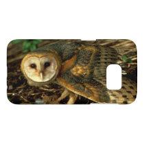 Barn Owl Photograph Samsung Galaxy S7 Case